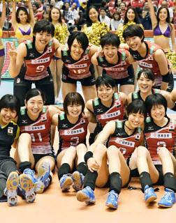 バレー 女子 メンバー 日本